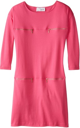 Joan Vass Women's Four Pocket Dress