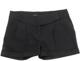 Balmain Black Wool Shorts