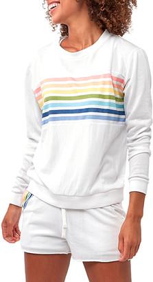 Astars Faith Rainbow Stripe Sweatshirt