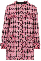 Moschino Tweed Jacket - Fuchsia