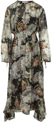 Ethereal London Isla Print Midi Dress