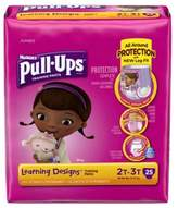 Huggies Pull-Ups® Learning Designs® Jumbo 25-Count Disposable Girl's 2T in 3T Training Pants