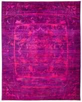 Solo Rugs Vibrance Overdyed Area Rug, 8'1 x 10'3