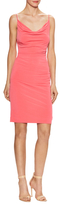 Nicole Miller Cowl Neck Sheath Dress