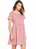 Glamorous Gingham Short Sleeve Swing