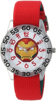 Marvel Boys Emoji Analog-Quartz Watch with Nylon Strap