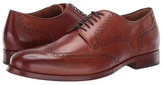 Cole Haan Gramercy Derby Wing Tip Oxford (British Tan) Men's Shoes