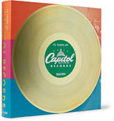 Taschen 75 Years Of Capitol Records Hardcover Book - Red