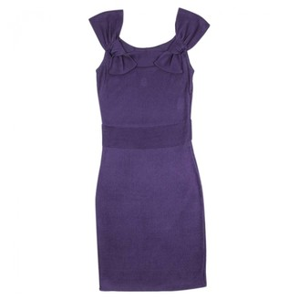 Christian Dior Purple Viscose Dresses