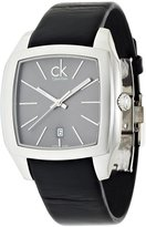 Calvin Klein Men's K2K21107 Recess Analog Display Swiss Quartz Black Watch