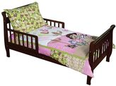 "Trend Lab Dora the explorer ""exploring the wild"" 5-pc. crib to toddler bedding set"