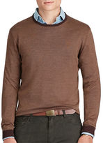 Polo Ralph Lauren Silk and Cotton Crewneck Sweater
