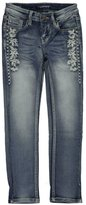 "Vigoss Big Girls' ""Garlanded"" Skinny Jeans"