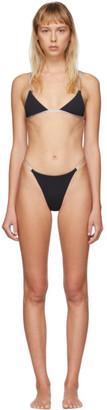 Heron Preston Black Triangle Bikini