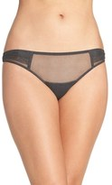 OnGossamer Pleat Front Thong (3 for $45)