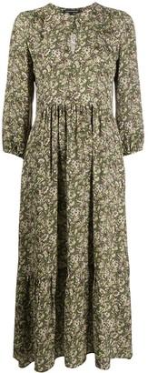 Luisa Cerano Floral Print Dress