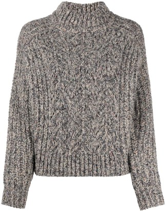 BA&SH Chunky Knitted Jumper