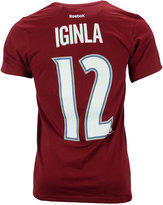 Reebok Men's Jarome Iginla Colorado Avalanche Player T-Shirt