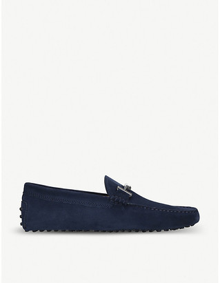 Tod's Tods Double T suede driving shoes