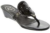 Jack Rogers Devyn Leather Wedge Sandal.