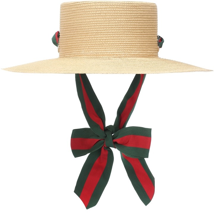 9311534a Gucci Straw Hat - ShopStyle