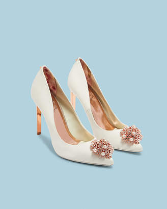 Ted Baker Brooch Detail Court Shoes