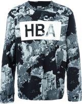 Hood by Air logo print sweater - men - Cotton - XL