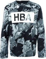 Hood by Air logo print sweater