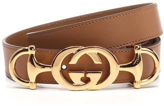 Gucci Interlocking G Horsebit Belt
