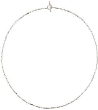 Ileana Makri 18kt white gold Riviera necklace