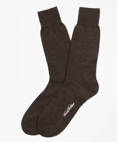 Brooks Brothers Merino Wool Jersey Crew Socks