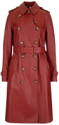 Burberry Haddington Belted Trench Coat