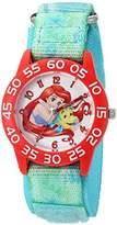 Disney Girl's 'Ariel' Quartz Plastic and Nylon Watch