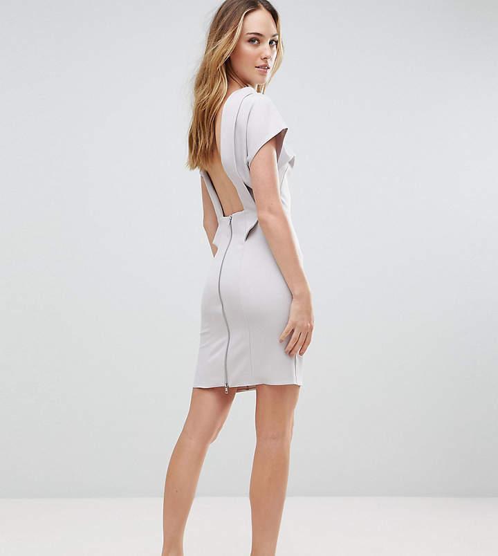 Asos Tall TALL Sexy Open Back Sash Mini Dress