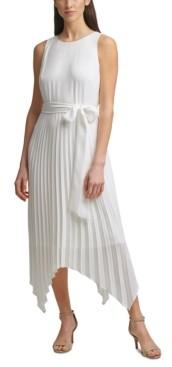 Jessica Howard Pleated Midi Dress