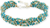 Nakamol Amazonite Beaded Multi-Row Choker Necklace