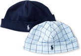 Ralph Lauren Cotton Interlock Hat 2-pack