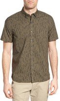 Michael Bastian Men's Safari Print Sport Shirt