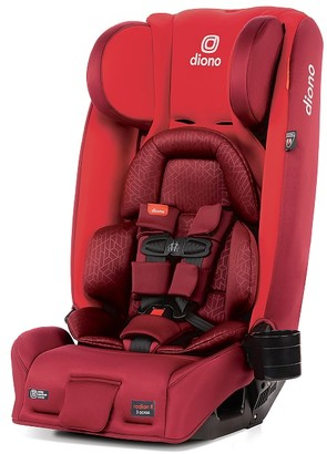 Pottery Barn Kids Diono Radian 3RXT Original 3 Across All in One Car Seat