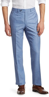 Saks Fifth Avenue COLLECTION Flat-Front Trousers