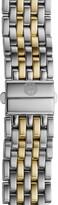 Michele Deco 16 16mm Two-Tone Bracelet Watchband