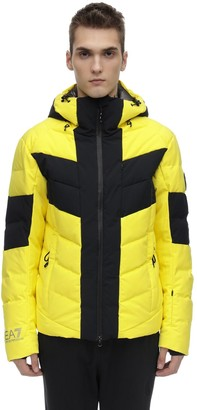 Ea7 Emporio Armani Technical Down Ski Jacket