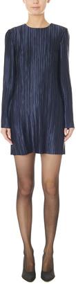 Tibi Plisse Mini Dress