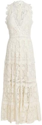 Alexis Havana Sleeveless Lace Midi Dress