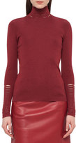 Akris Massai-Collar Knit Sweater, Miracle Berry