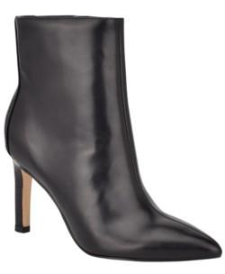 Nine West Women's Marbel Pointy Toe Booties Women's Shoes