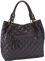 Under One Sky Quilted Faux Leather Satchel