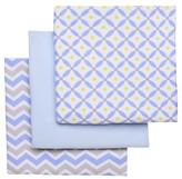 Boppy Flannel Receiving Baby Blanket (3pk)