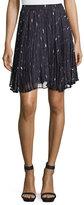 Haute Hippie The Goodnight Pleated Mini Skirt, Ursula