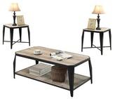 ACME Furniture Occasional Table Set - Oak - ACME